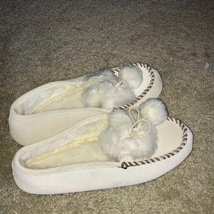 Lands' End Moccasin Slippers